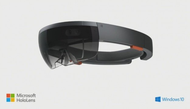Microsoft Unveils Ambitious Self-Contained VR Headset HoloLens