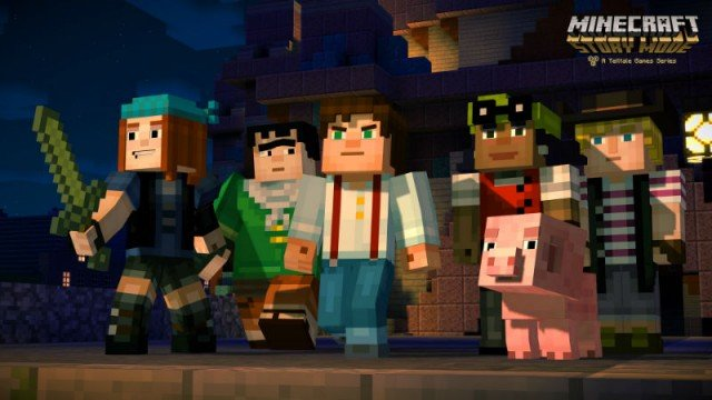 minecraft story mode jesse group