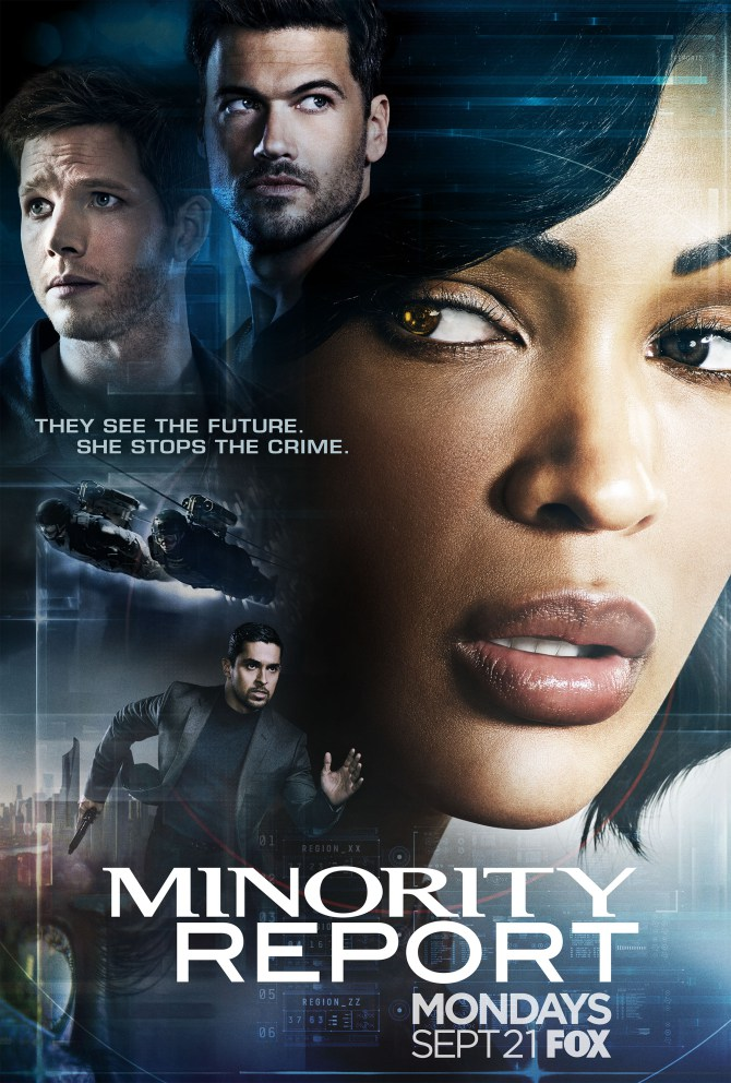 New Poster For Minority Report Series Remembers The Past