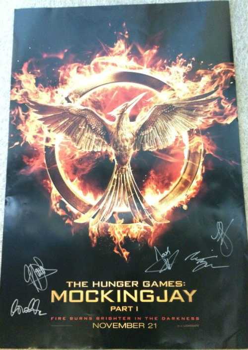CONTEST: Win The Hunger Games: Mockingjay - Part 1 Signed Poster