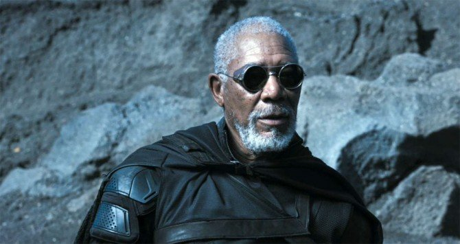 Roundtable Interview With Morgan Freeman On Oblivion