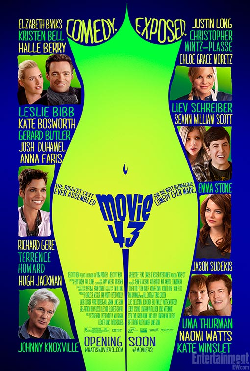 A First Look At The One Sheet Poster For Movie 43