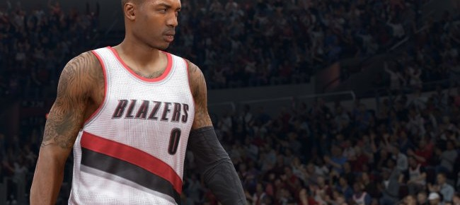 NBA Live 15 Nabs Buzzer Assassin Damien Lillard As Cover Athlete