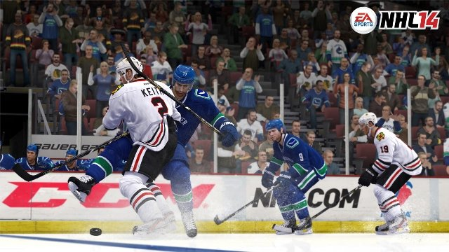 How NHL 14 Embraces Fight Night Technology
