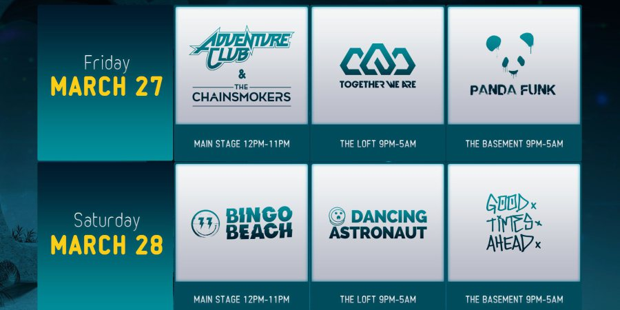 Full Lineup For No Sugar Added Revealed, Bingo Players, Adventure Club And More To Headline