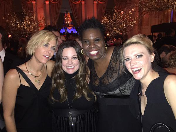 The New Ghostbusters Get Together For A Candid Photo