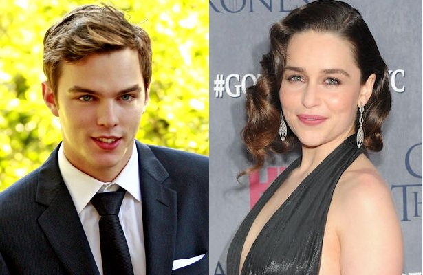 Nicholas Hoult 2009 Emilia Clarke And Nicholas Hoult Will Go Down Together For New Bonnie And Clyde Flick