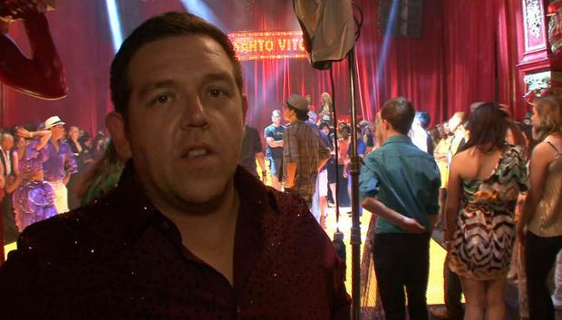 Nick Frost Heads To ABC For The Finger