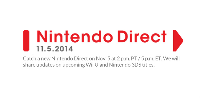 Nintendo Direct Pegged For November 5th, Upcoming 3DS & Wii U Titles On The Cards