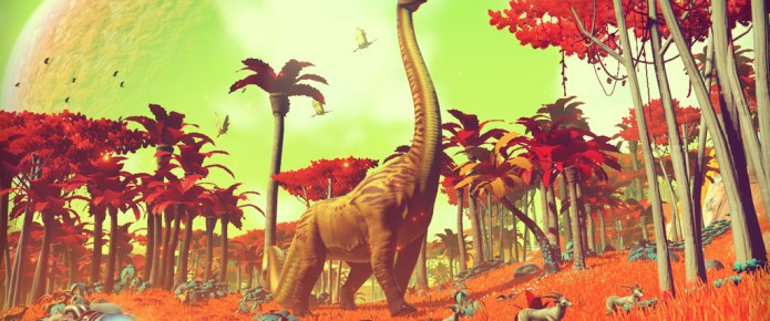 No Man's Sky Procedurally Generates An Infinite Universe On PS4