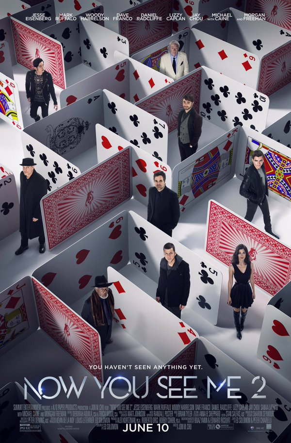 Now You See Me 2 Poster Conjures Up A House Of Cards