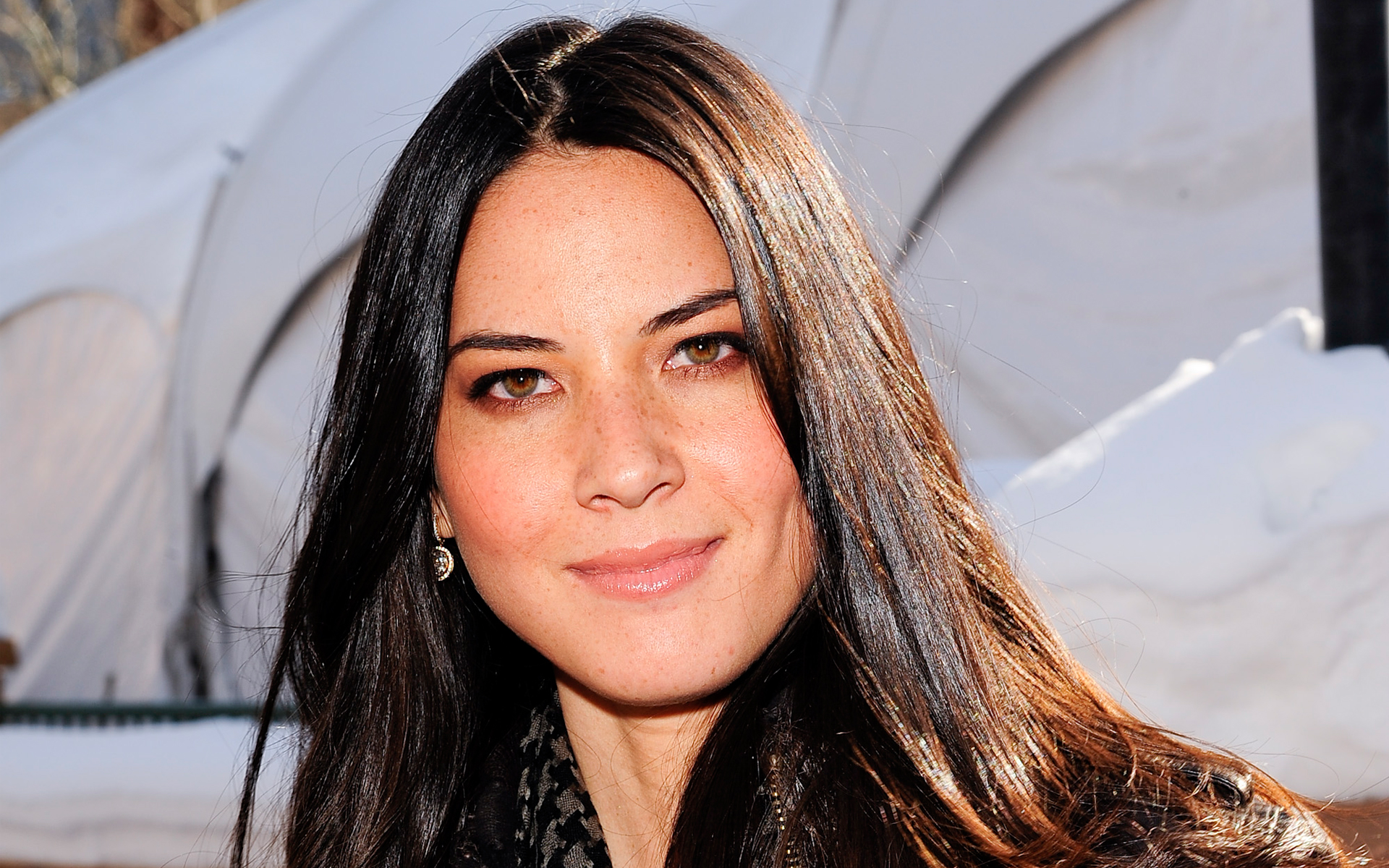 Olivia Munn Joins Office Christmas Party
