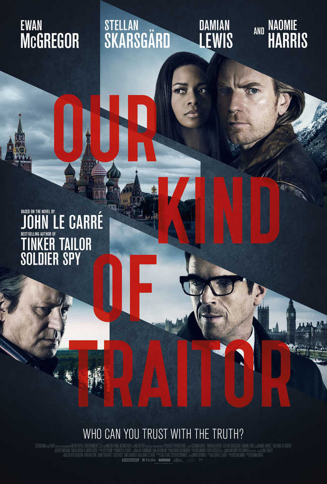 Our Kind Of Traitor Poster Assembles Susanna White's Starry Cast
