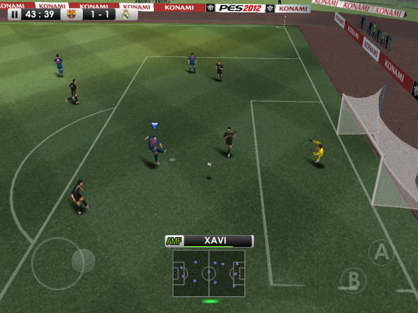 Pro Evolution Soccer 2012 Dekes And Dribbles Onto iOS