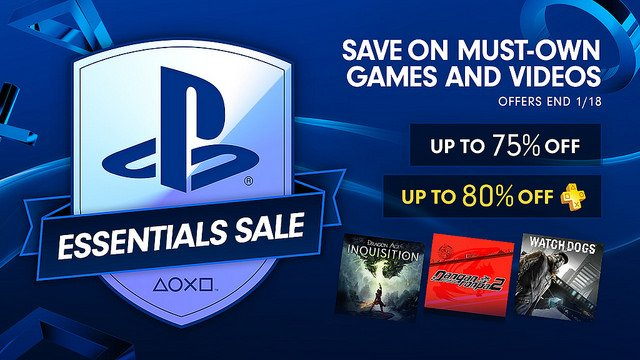 PlayStation Essentials Sale Offers Up To 75 Percent Off Major PlayStation 4 Games