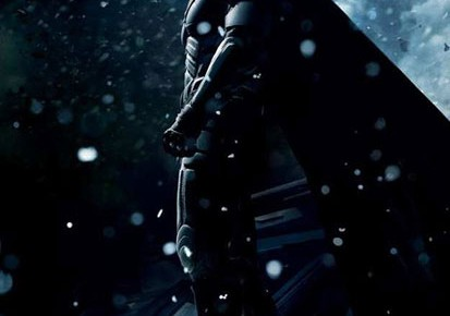 New Dark Knight Rises Posters Let It Snow