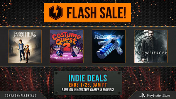 PlayStation Network Flash Sale Offers Massive Discounts On Several Indie Hits