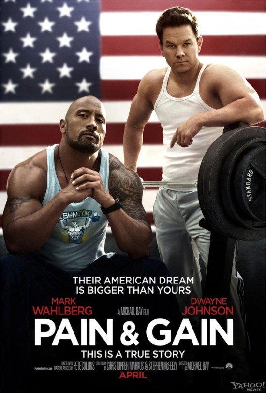 New Poster Arrives For Michael Bay's Pain And Gain