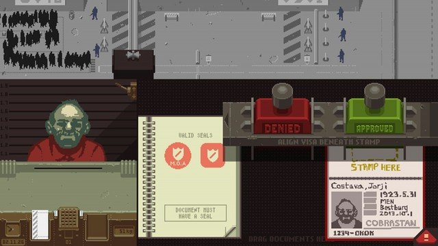 Papers, Please Review