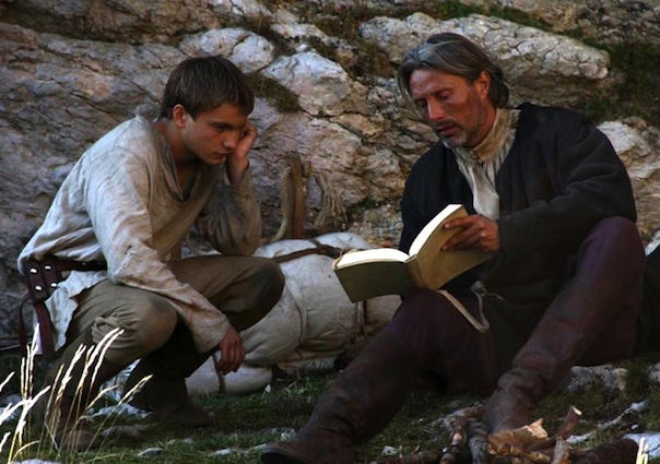 Paul Bartel and Mads Mikkelsen in Age of Uprising: The Legend of Michael Kohlhaas