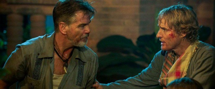 Don't Mess With Pierce Brosnan In This New Clip From No Escape