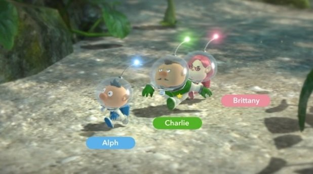 Pikmin 3 Introduces Three New Captains For Your Gaming Enjoyment