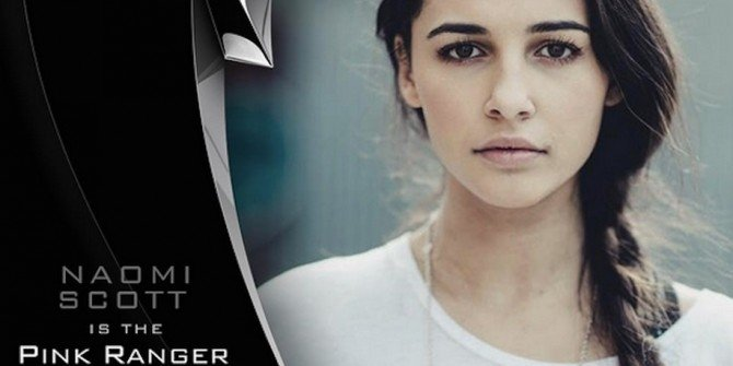 The Martian's Naomi Scott To Play The Pink Ranger In Power Rangers Reboot