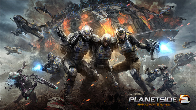 PlanetSide 2 Closed Beta Set To Blast Onto PS4 Later This Month