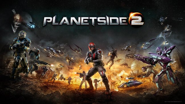 PlanetSide 2 Touches Down On PlayStation 4 Later This Month