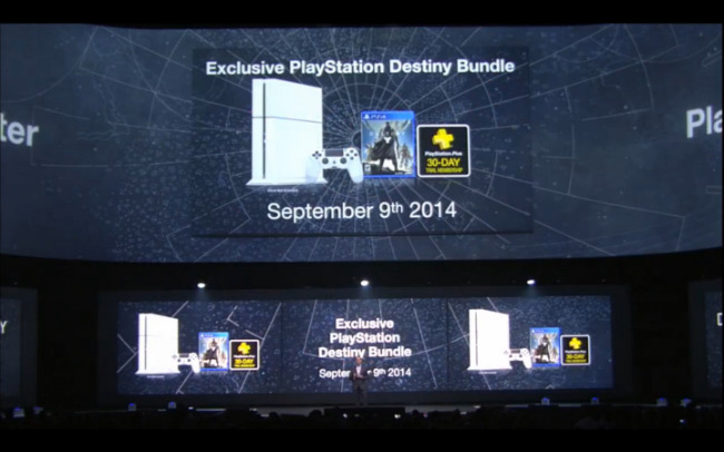 Sony Unveils White PlayStation 4 Destiny Bundle; Peter Dinklage Joins Voice Cast