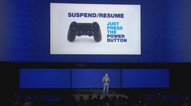 PlayStation 4 Features Including Suspend & Resume Still In The Works