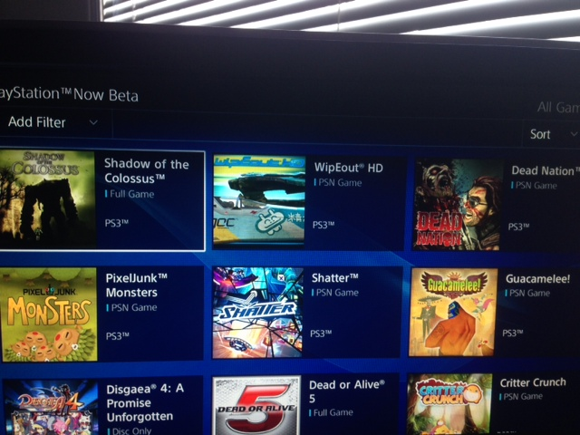 PlayStation Now Beta 2.0 Adds Shadow Of The Colossus, Dead Island And More