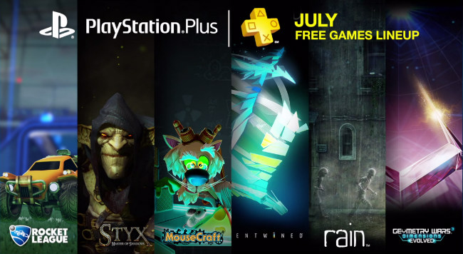 PlayStation Plus July Line-Up Includes Rocket League On PS4