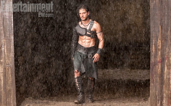 First Look At Kit Harington In Paul W.S. Anderson's Pompeii