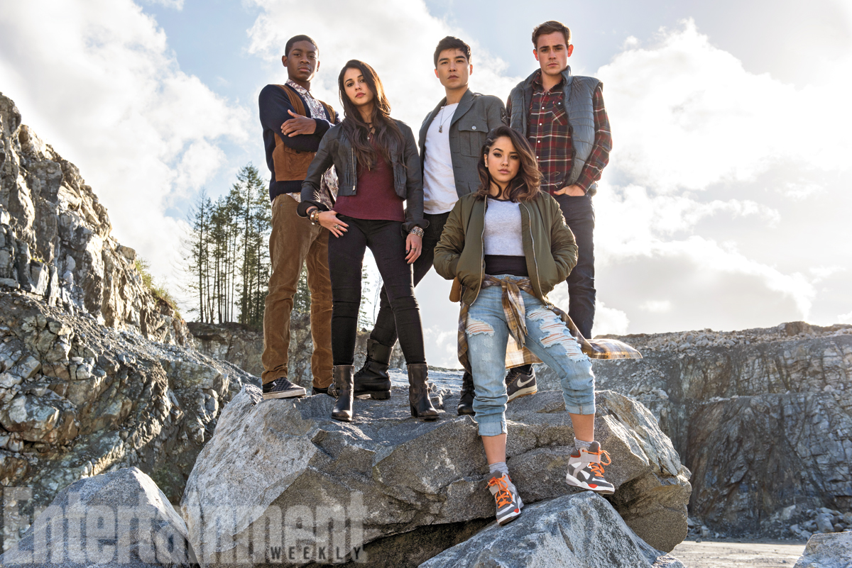 Saban's Power Rangers Assemble In First Official Still From The New Movie