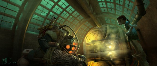 Stunning Concept Art For Cancelled BioShock Movie Hints At What Could Have Been
