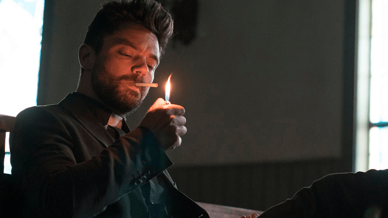 Preacher's Ian Colletti On Jesse's Shocking Actions Toward Eugene