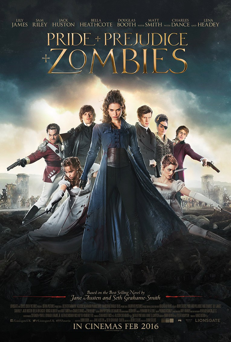Pride And Prejudice And Zombies Gets A New UK Trailer And Poster