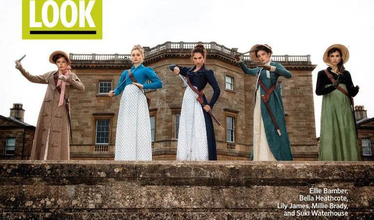 The Mannered Meet The Undead In First Image For Pride And Prejudice And Zombies