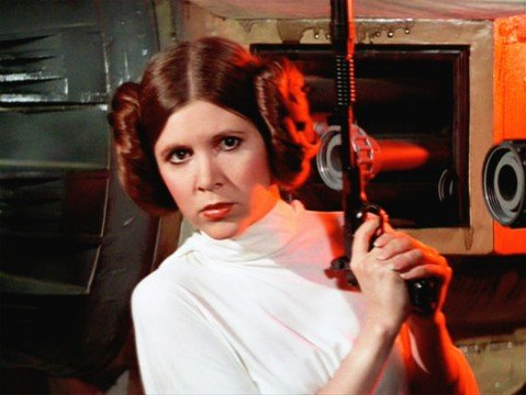 Princess Leia 1 479x360 15 Female Action Heroes Who Can Kick Some Serious Ass
