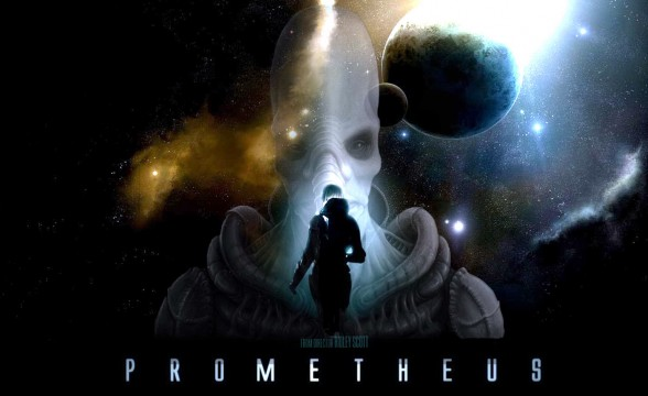 Prometheus movie Ridley Scott 588x360 Prometheus Blu Ray Adds At Least 40 Minutes Of Footage