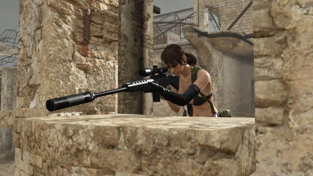 Konami Details New Update Headed To Metal Gear Online, Quiet DLC Dated For March