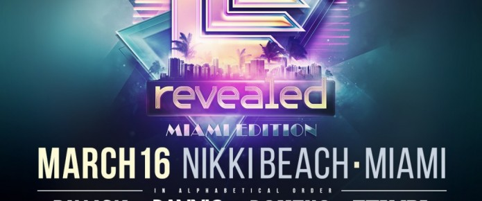 Hardwell Announces Lineup For Revealed Recordings Party In Miami