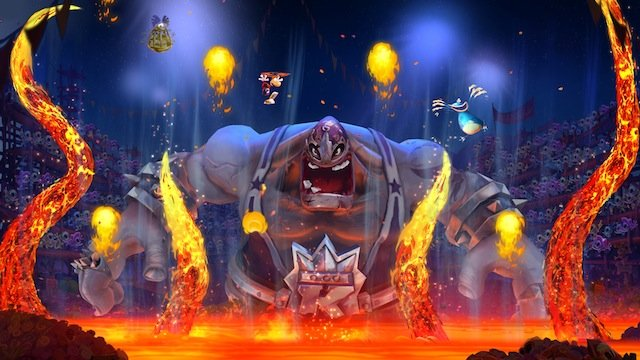 RL  FIESTA DE LOS MUERTOS LUCHADOR BOSS FIRE Rayman Legends Review