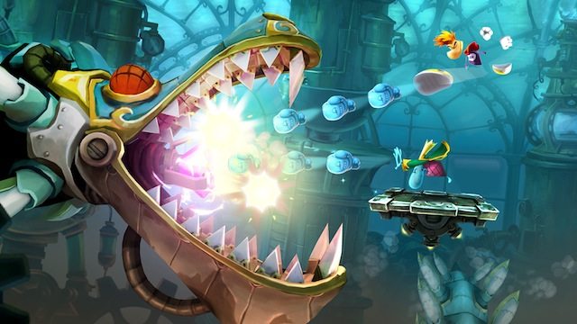 RL  OCEAN WORLD  Mechanic Dragon Rayman Legends Review