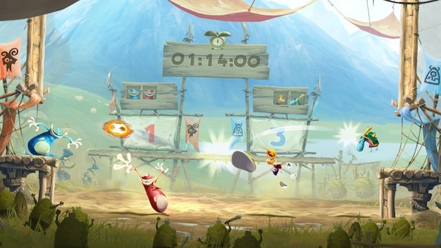 RL E3 kung foot Rayman Legends Review
