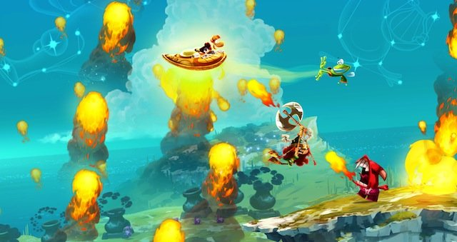 RL NinPreview ShieldFly Rayman Legends Review