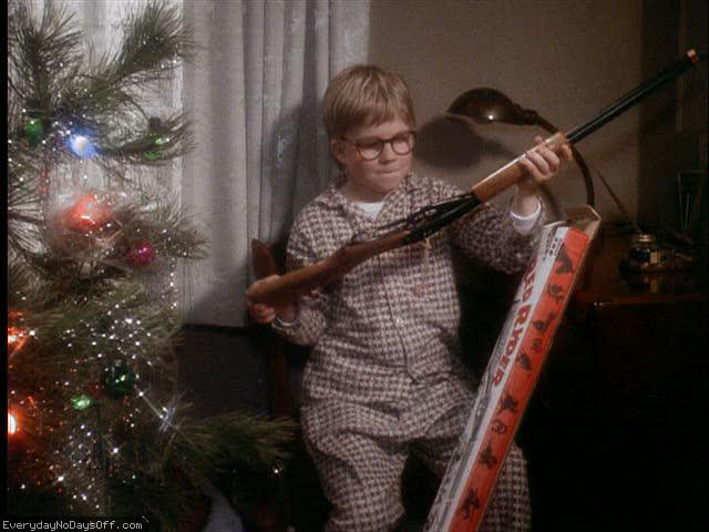 Top Ten Christmas Gifts Received In Film