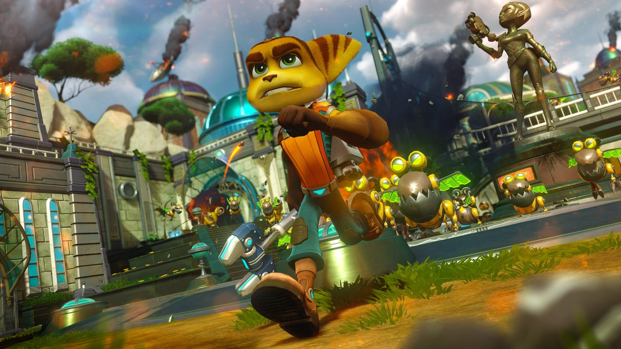 Latest Ratchet & Clank PS4 Images Reunite The Best Heroes In The Galaxy