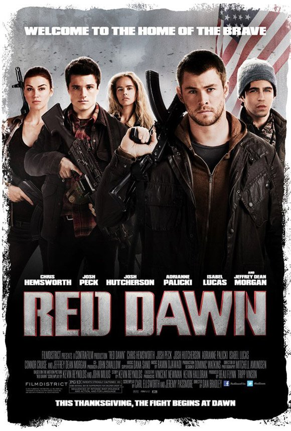 First Poster For The Red Dawn Remake Appears Online